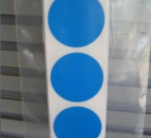 Coloured Circle Labels